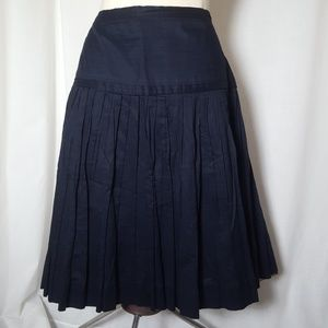 J. Crew Skirts - J Crew Women's Skirt Navy 6 Cotton